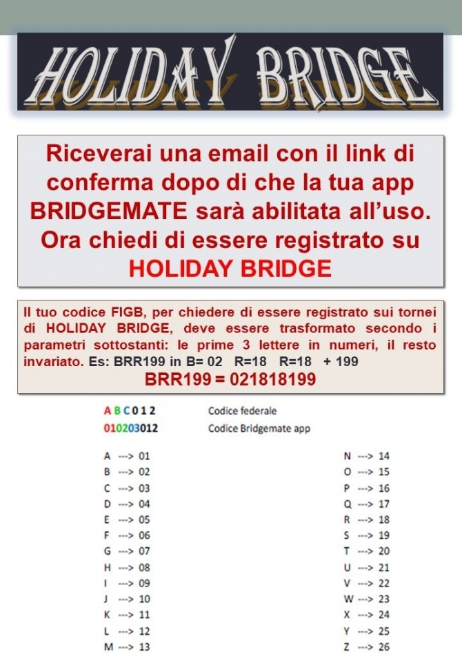 - HOLIDAY BRIDGE a.s.d.